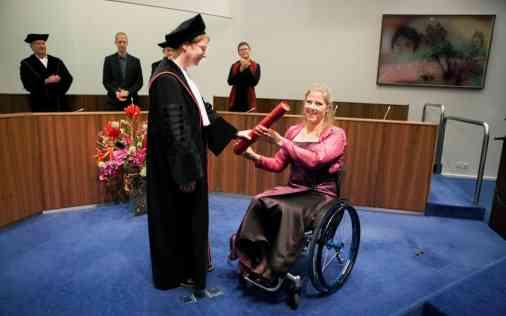Promotie Laura de Vaan O4 Wheelchairs